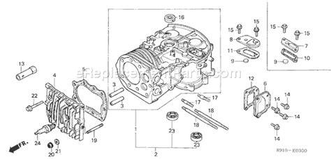 honda gv400 parts list and diagram type adjdvin gv400