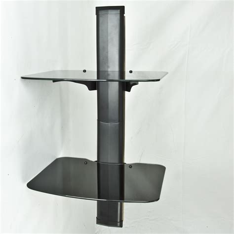 Wall Mount Audio Rack by Wall Mount Cable Console Shelf Av Component Dvd Box