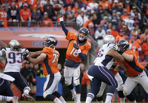 broncos past patriots into super bowl super bowl xlviii 48 2014 no super bowl return for patriots broncos hold on for afc