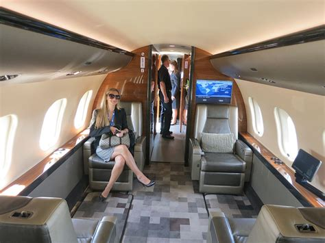 Global Express Interior by Bombardier Global 6000 Interior