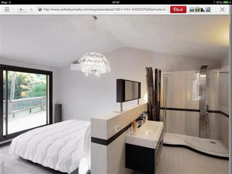 open plan bedroom like the open plan ensuite idea for a couple of bedrooms bedrooms pinterest