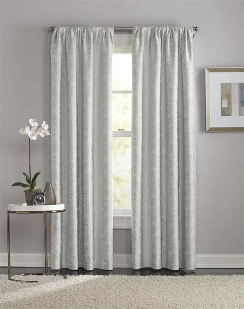 Manchester Damask Pole Top Curtain Panel Curtainworks