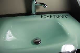 glass bathroom countertops sinks bathroom vanity furniture aqua green tempered glass bowl