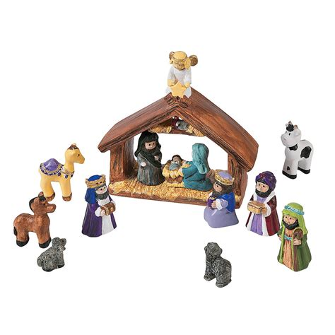 diy mini nativity set diy crafts crafts for kids craft