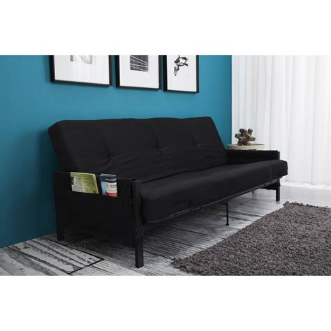 mainstays metal arm futon with mattress mainstay metal arm futon bm furnititure