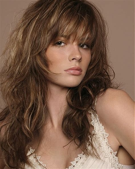 shag layered hairstyles shaggy layered hairstyles