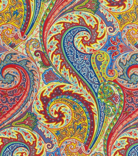 patternbank paisley williamsburg solid fabric 54 quot jaipur paisley jewel
