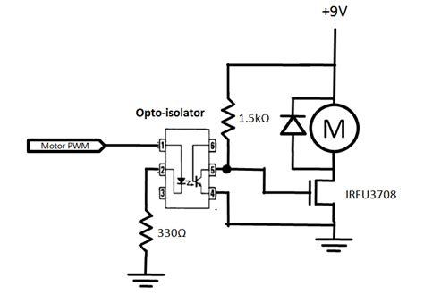 isolation resistor wiki using opto isolators to prevent interference northwestern mechatronics wiki