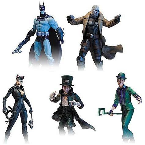 Dc Collectibles Batman Arkham City Series 2 Batman Detective Mode batman arkham city series 2 figure set dc collectibles batman figures at