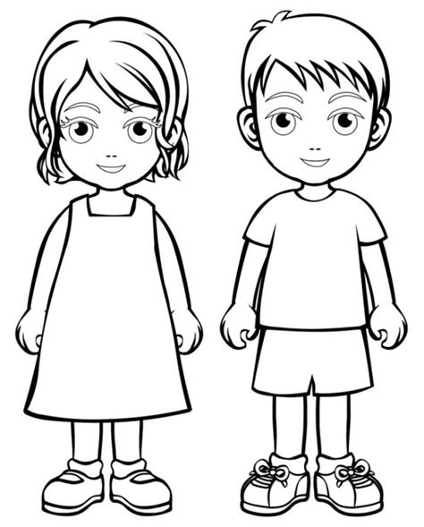 coloring pages boys com boy girl coloring page boys and girls wear colouring pages