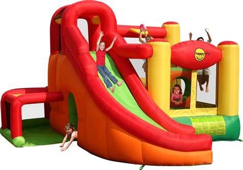 Hoop Garden by 11 In 1 Inflatable Play Centre Bouncy Castle With Slide