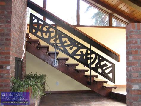 Staircase Banisters Ideas Modern Stairs Metal Wood Railing Google Search Modern