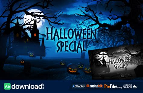 Halloween Special Promo Videohive Project Free Download Free After Effects Template Free After Effect Promo Template