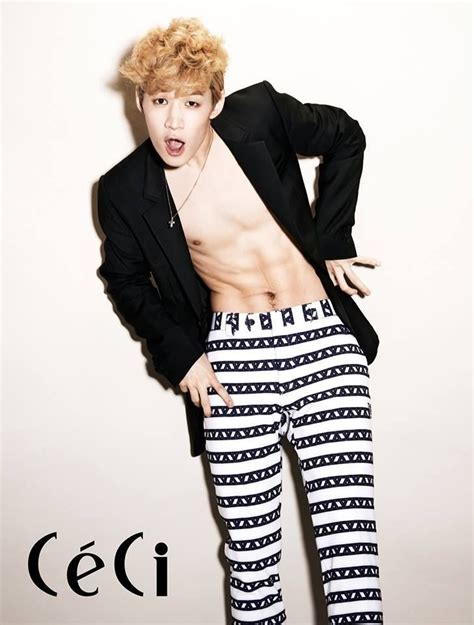 Kpop Magazine 1 Junior 17 best images about chocolate abs 3 on jaejoong exo and concerts