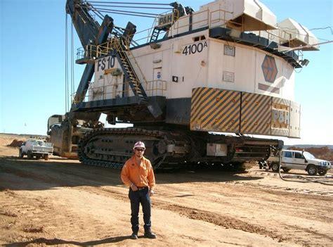 P H P p h shovels ernest henry p h 4100 rope shovel mining