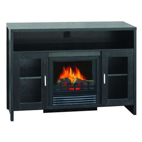 Home Depot Electric Fireplace Media Console by Quality Craft 43 In Media Console Electric Fireplace In