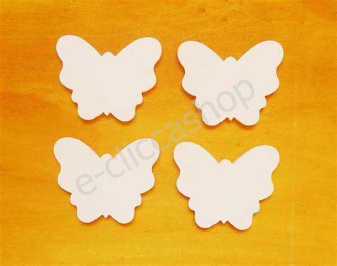 Farfalle Fai Da Te by Sagoma Farfalla In Legno Per Il Fai Da Te 4 Pz Materiali