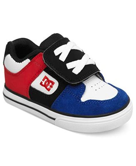 macy kid shoes dc shoes shoes toddler boys v sneakers
