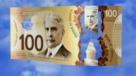 Plastik Dollar canada unveils plastic currency abc news