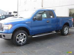 2010 Ford F150 4x4 For Sale 2010 Ford F150 Xlt Supercab 4x4 In Blue Metallic