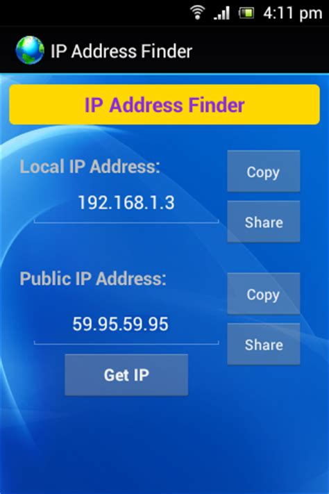 Local Ip Address Finder My Ip Address Finder Android Apps On Play