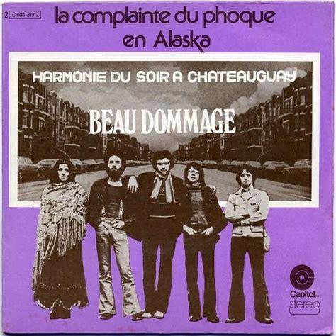 harmonie du soir a chateauguay la complainte du phoque
