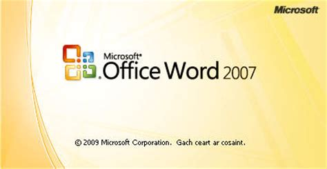Word Office 2007 Click Button