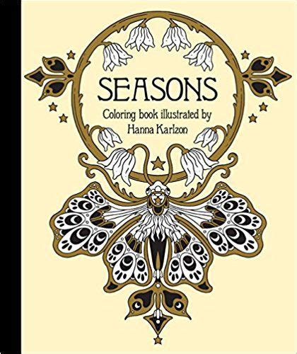 1423648080 seasons coloring book 80 best coloring books images on pinterest coloring