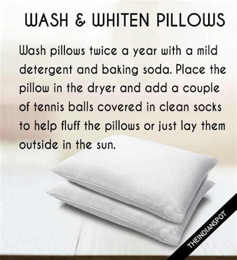 How To Wash Pillows In Front Loading Washer by Wash And Whiten Pillows In Washing Machine Theindianspot