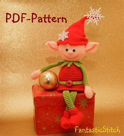 pattern for christmas elf crochet pattern elf christmas amigurumi by eisenberg craftsy