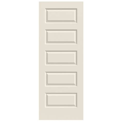 5 Panel Interior Door Shop Jeld Wen Solid 5 Panel Equal Slab Interior Door