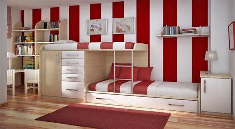 imagenes habitaciones rojas habitaciones juveniles decoradas con rayas