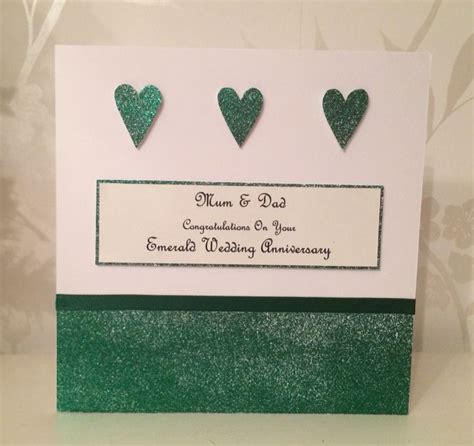 Emerald Wedding Anniversary Card Uk by 36 Best Images About Emerald Wedding Anniversary 55th On