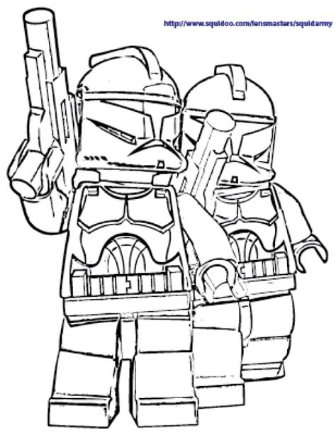 lego star wars stormtrooper coloring page the white stormtroopers in lego star wars free coloring