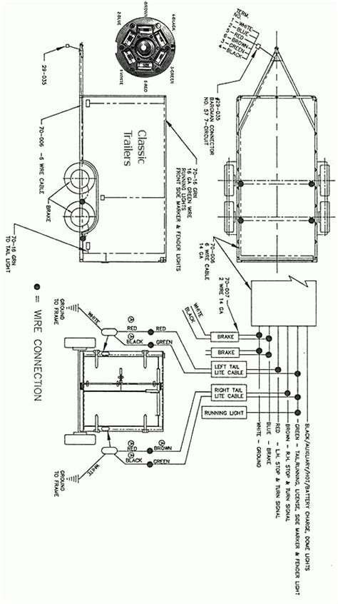 big tex trailer wiring diagram fuse box and wiring diagram