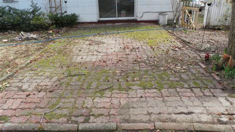 Cleaning Patio Pavers Powerwashing Nj 732 726 9261 Patio Paver Cleaning In Metuchen Nj