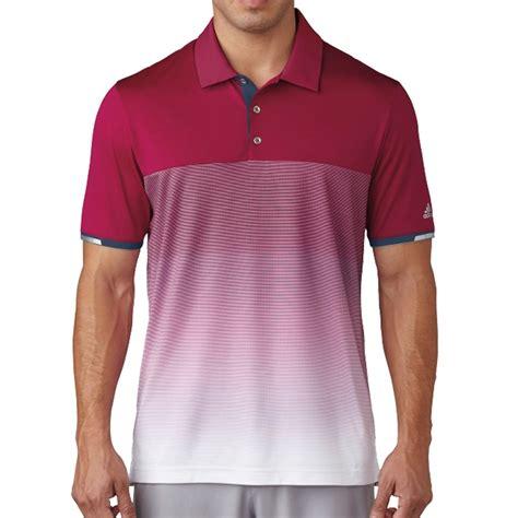 Polo Shirt Adidas Stripe Olog Adidas Golf 2017 Climachill Gradient Stripe Breathable