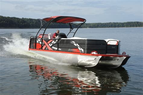 playcraft 2700 powertoon x treme pontoon deck boat - Playcraft Pontoon Boats