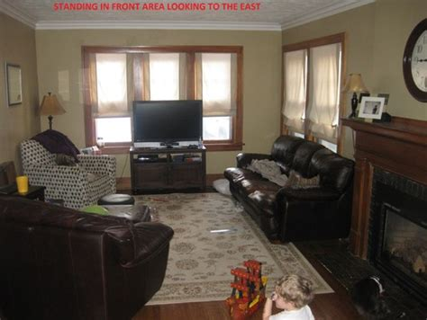 how to lay out furniture in a small living room how to arrange furniture with living room fireplace in center and doorway center