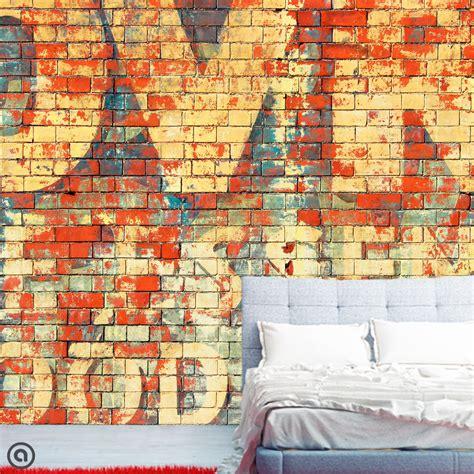 Graffiti Removable Wallpaper   removable graffiti wallpaper graffiti peel stick self