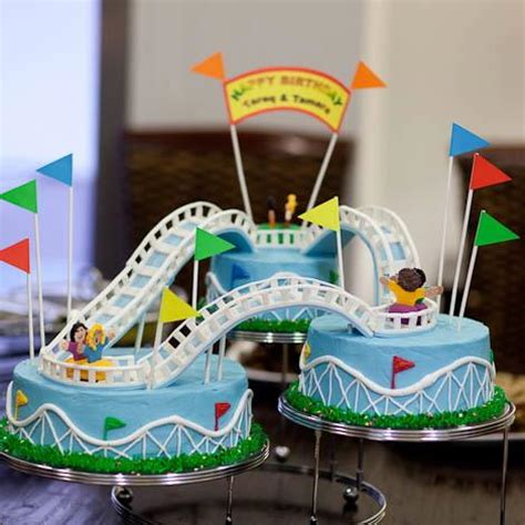 Home Cake Decorating Qatar Collections Roller Coaster Cake