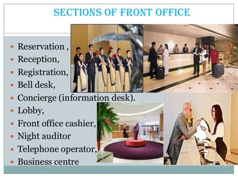 Reception Desk Sale Sections Of Front Office Department In Hotels