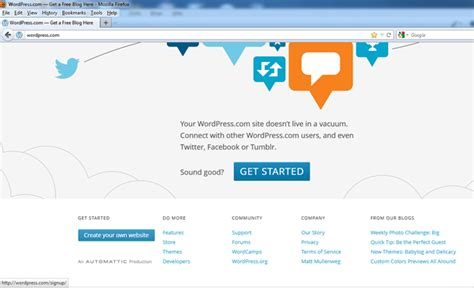 alamat web untuk membuat blog gratis webiihost info membuat blog gratis di wordpress