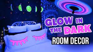 diy glow in the dark room decor tumblr inspired youtube glow in the dark bedroom ideas interior designs room