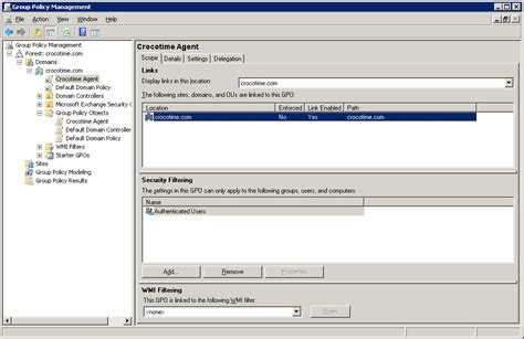 keyboard layout via gpo installation of сrocotime agent using gpo