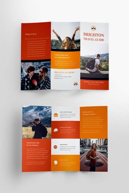 Free Brochure Templates Download Ready Made Template Net Free Brochure Templates For Students