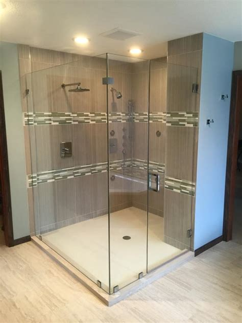 frameless photo frameless glass shower door photo gallery precision glass