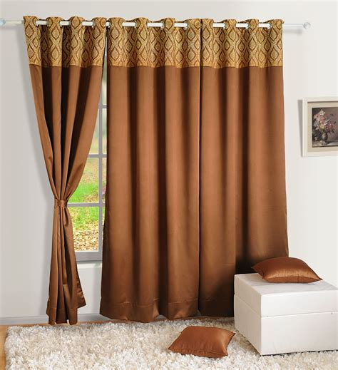 Window Curtain Panel Decorating Home Decor Faux Silk Window Drape Panel Bedroom Blackout Eyelet Door Curtain 217