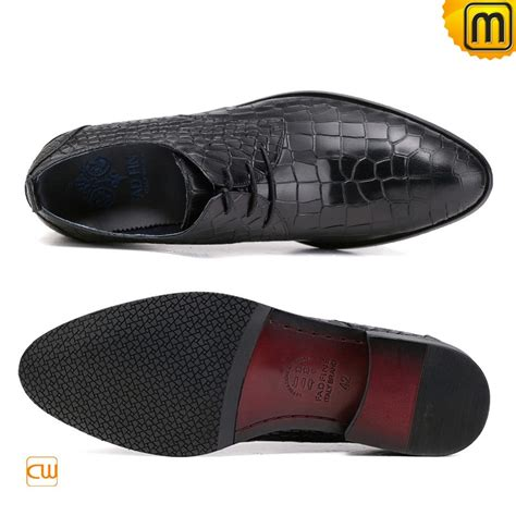 mens designer leather lace up dress shoes cw762018