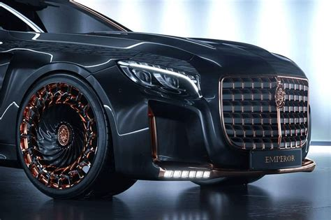 Auto Extreme Tuning by Scaldarsi Emperor I Is The Most Extreme Mercedes Maybach